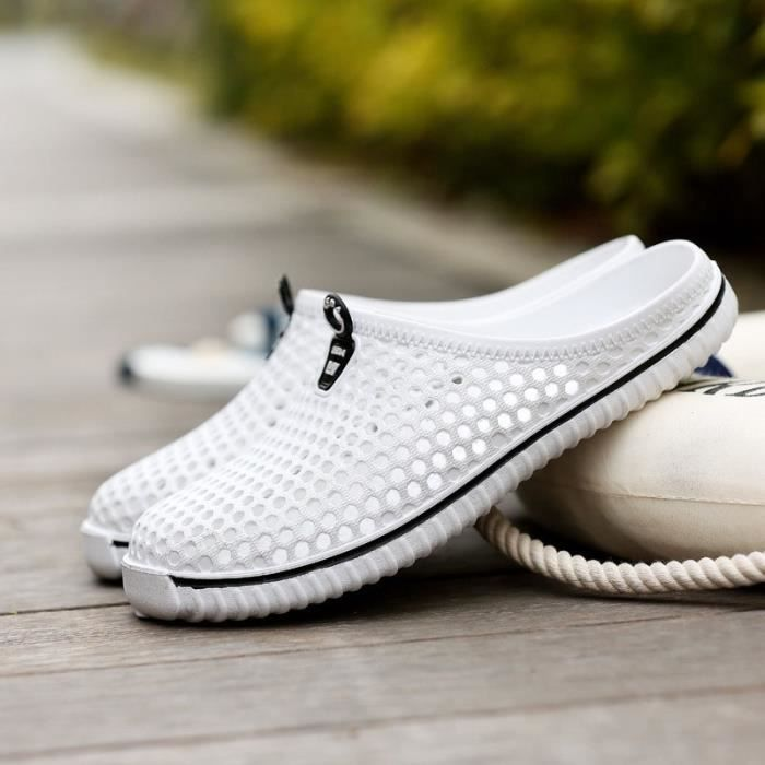 Hollow Shoes 2017 Mesh blanc Gros Casual En New Lazy 44 Chaussures Summer Men Respirant SfSpwzPAq