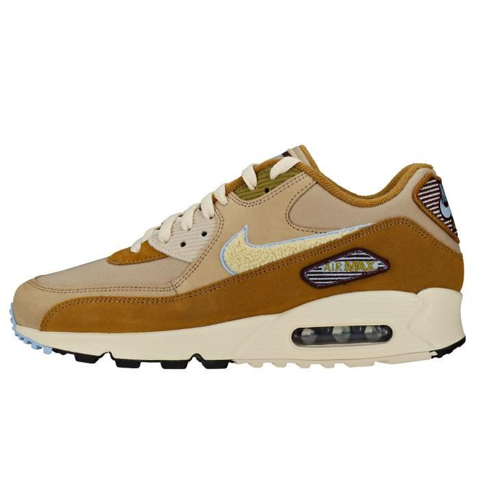 Se Homme Nike Max Premium Baskets 90 Marron Beige Air 1I1qC