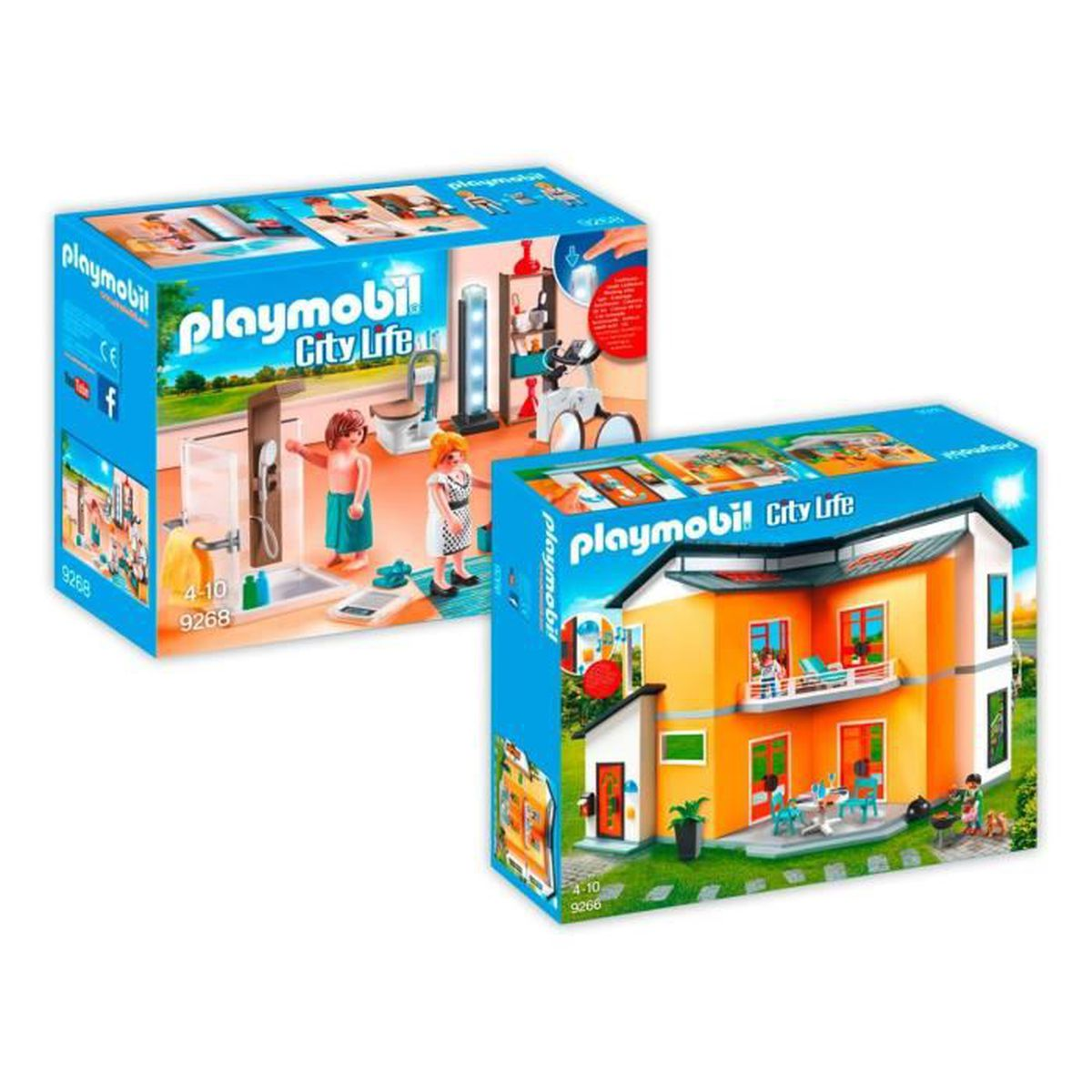 Beautiful Maison Moderne De Luxe Playmobil Ideas Awesome Interior Home Satellite