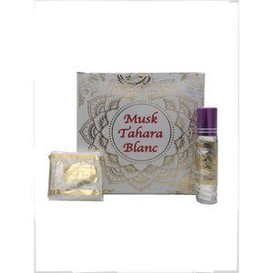 COFFRET CADEAU PARFUM Coffret Musc Blanc Tahara Solide et Liquide