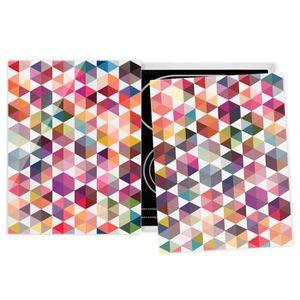 PLAQUE INDUCTION Couvre plaque de cuisson - Hexagon Facets - 52x80c