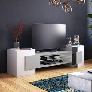 MEUBLE TV Meuble TV / Meuble de salon - CHARLES - 160 cm - b
