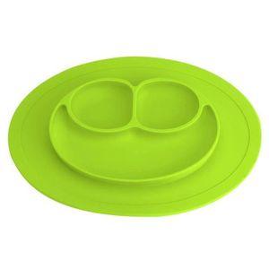 Mignon Bébé Assiette avec Couvercle Amovible Pour Sur Le Go repas ergonomique