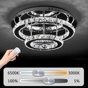 PLAFONNIER LED Cristal Plafonnier 36 W Diamant style 4PCS Lus