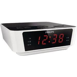Radio réveil Philips AJ3115 Radio Réveil avec Tuner FM avec Gra