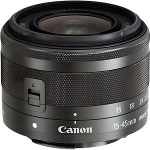 OBJECTIF CANON Objectif EF-M 15-45mm f/3.5-6.3 IS STM Noir