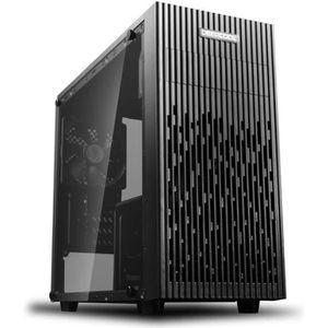 BOITIER PC  DEEPCOOL Matrexx 30 Noir Noir (Verre trempé) - Boî