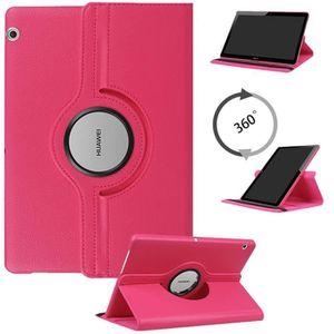 HOUSSE TABLETTE TACTILE Housse Etui 360° Rotatif pour HUAWEI Tablette tact