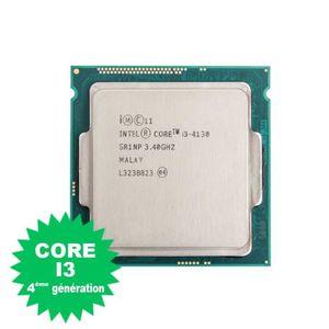 PROCESSEUR Processeur CPU Intel Core I3-4130 3.4Ghz 3Mo 5GT/s