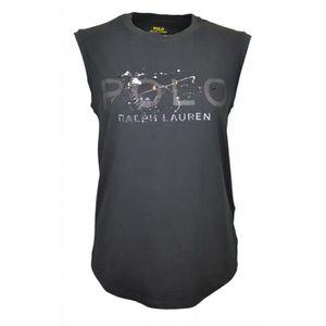 T-SHIRT T-shirt sans manches Ralph Lauren noir pour femme