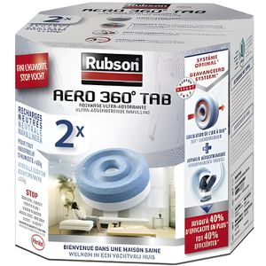 ABSORBEUR D'HUMIDITÉ RUBSON 2 Recharges Aero 360