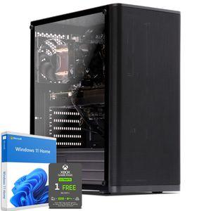 UNITÉ CENTRALE  PC Gamer, AMD Ryzen 5, RX570, 2To HDD, 16 Go RAM,