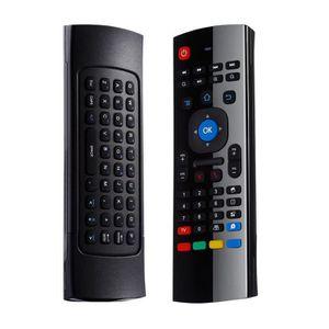 PACK CLAVIER - SOURIS Air Mouse 2.4G Clavier Télécommande sans Fil à Dis
