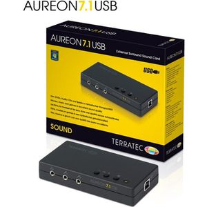 CARTE SON EXTERNE TERRATEC Carte de son externe 7.1 USB AUREON 7.1 U