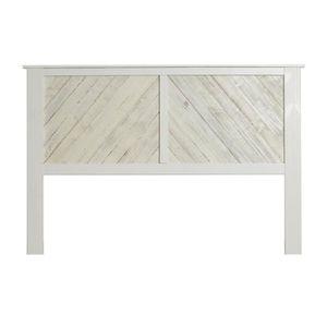 TÊTE DE LIT Tête de lit 164 cm bois Blanc lavé - JUDAY PAS FIN