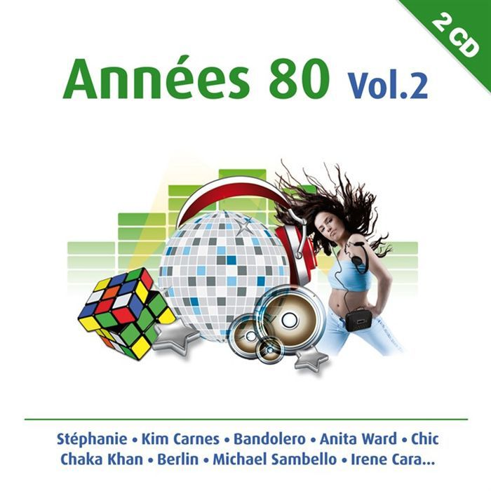 annees 80 vol 2 compilation achat cd cd compilation pas cher. Black Bedroom Furniture Sets. Home Design Ideas