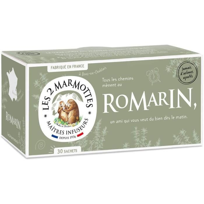 Les 2 Marmottes Infusion Romarin
