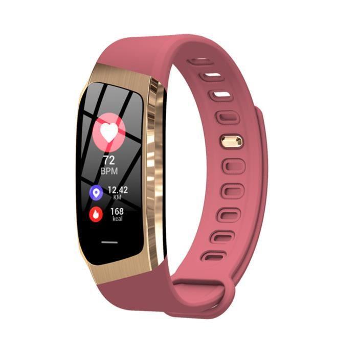 Fitness Activity Tracker Bracelet intelligent Moniteur de fréquence cardiaque de pression artérielle Bracelet intelligent étanche