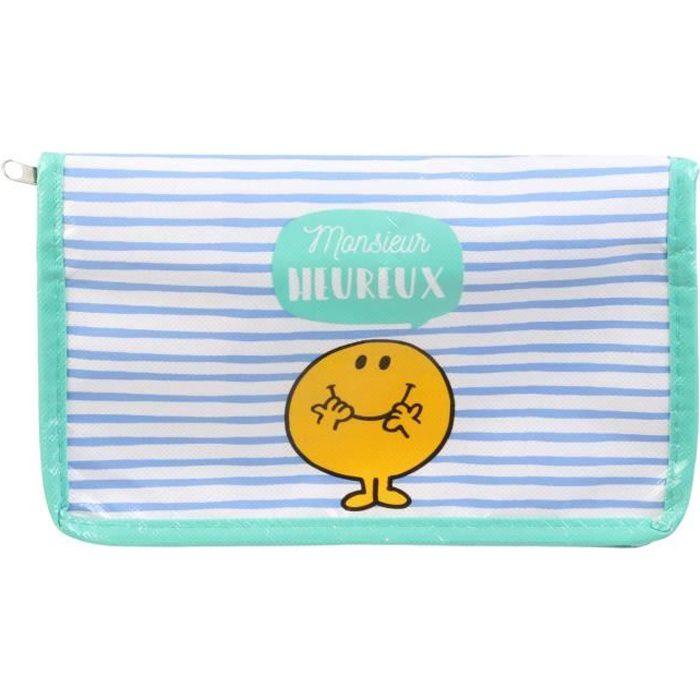 Lunch Bag Sac Repas Fraicheur Isotherme Glacière MR Heureux 23,5x13,5x14,5 cm