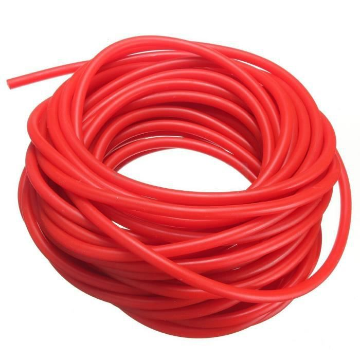 Tube exercice caoutchouc résistance bande catapulte Dub fronde élastique, 2.5M - Modèle: Rouge - HSJSTLDA08616