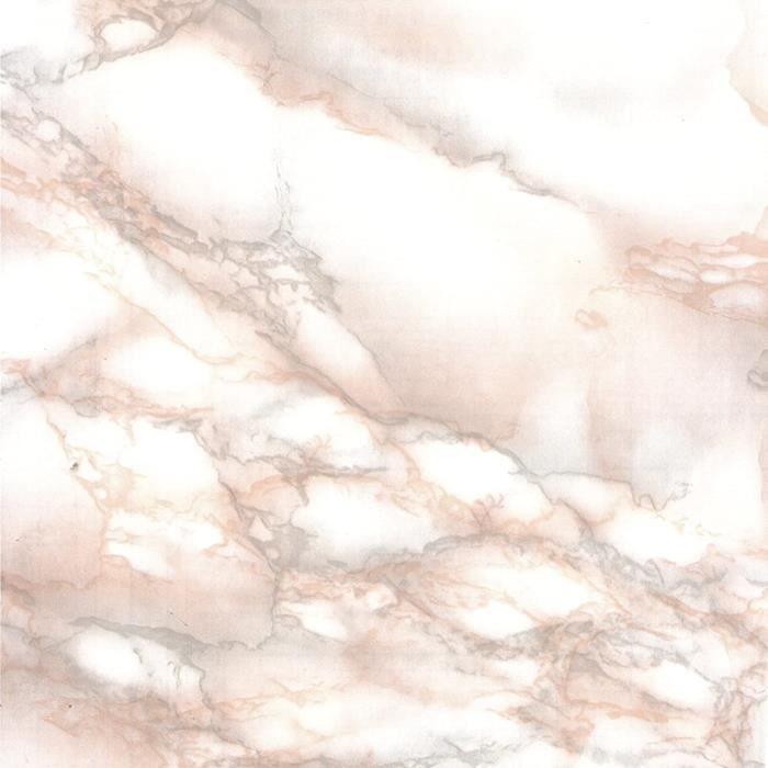 Film adhésif décoratif pour meuble effet matière MARBRES MARMOROSA 67,5 x 200 cm, imperméable PVC, sans phtalates, 53365 A467