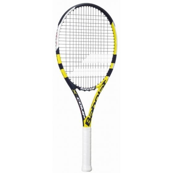 raquette de tennis X Comp Strungunisexe noir/jaune mt L4