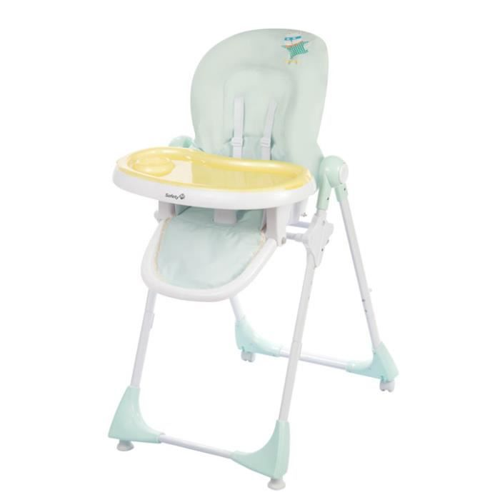 Safety 1st - Chaise haute Kiwi - Pop Hero Vert Clair,Jaune