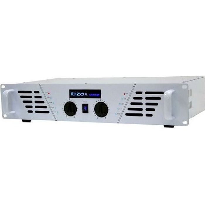 Amplificateur sono 2 x 480 W Max AMP-600 WH