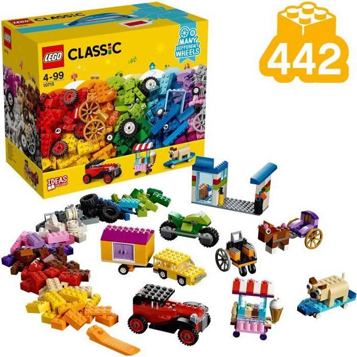 LEGO® Classic 10715 La boîte de briques et de roues LEGO