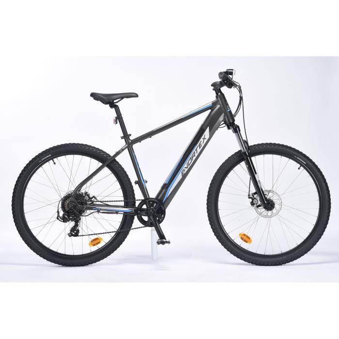 Vélo électrique - VTT 27,5- - Homme - TVT E-VORTEX - Autonomie 60km - Aluminium