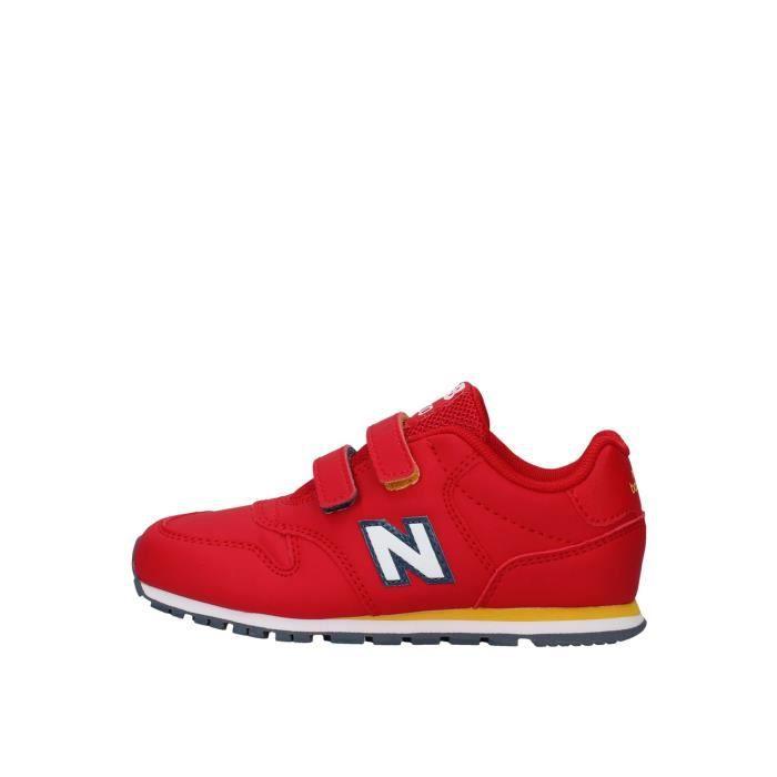 New Balance IV500RRY chaussures de tennis faible Enfant ROUGE