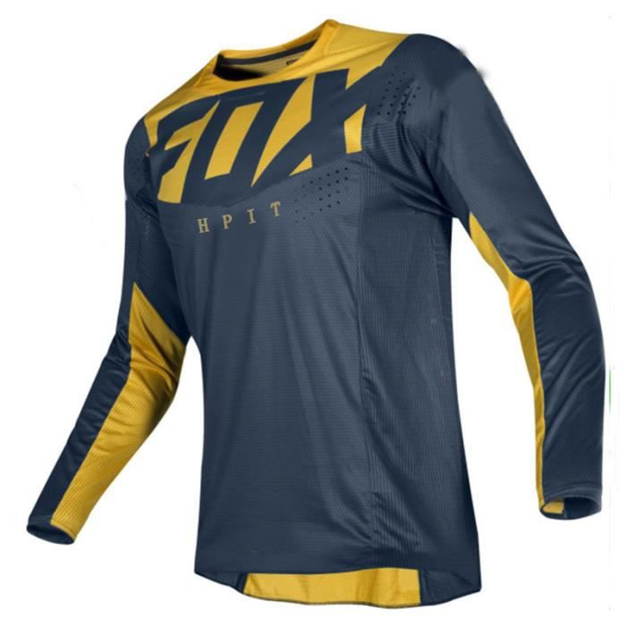 cyclisme,Moto VTT equipe descente maillot hpit fox vtt tout terrain DH MX velo locomotive chemise cross country - Type 1
