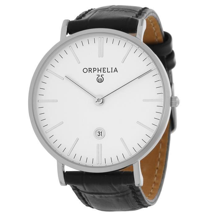 ORPHELIA-Montre Simplicity Analogique pour Homme à movement Quartz en Cuir-61506