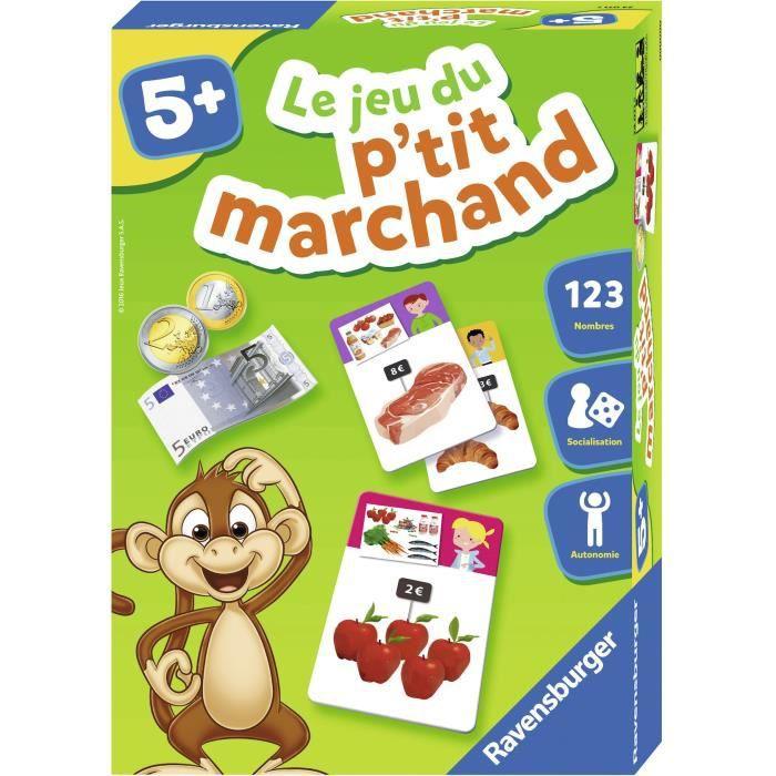 RAVENSBURGER Jeu éducatif Le jeu du p'tit marchand - 5 ans et +