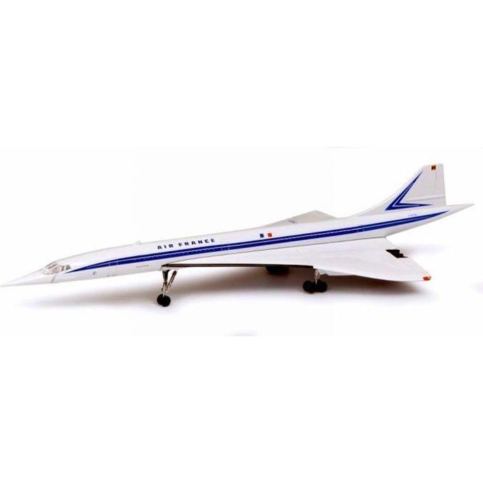 Maquette AIR FRANCE CONCORDE Métal F-WTSB 1/250 Nez Mobile
