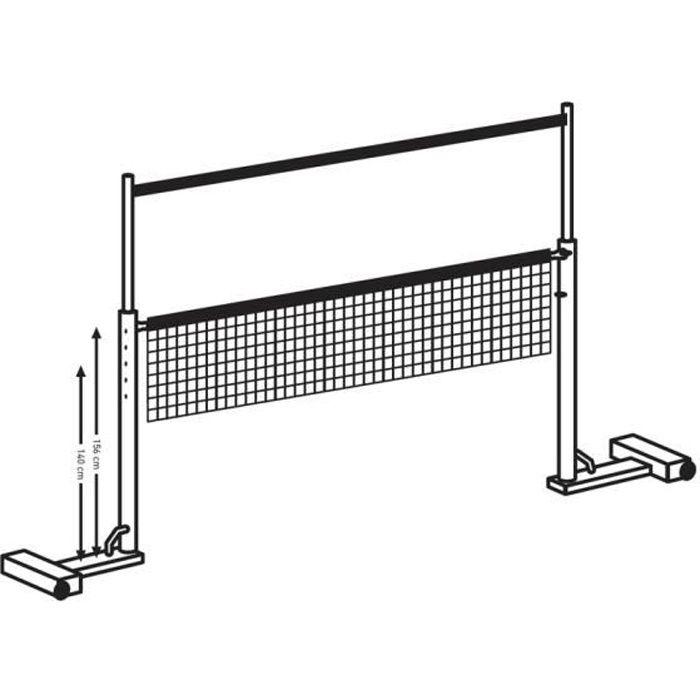 Sur-filet Badminton 6,10 m