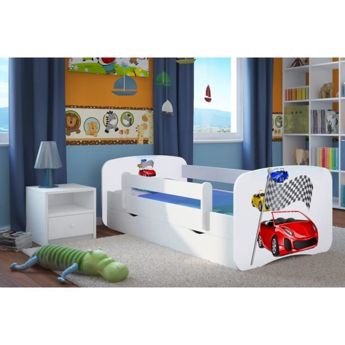 lit enfant avec barriere achat vente lit enfant avec. Black Bedroom Furniture Sets. Home Design Ideas