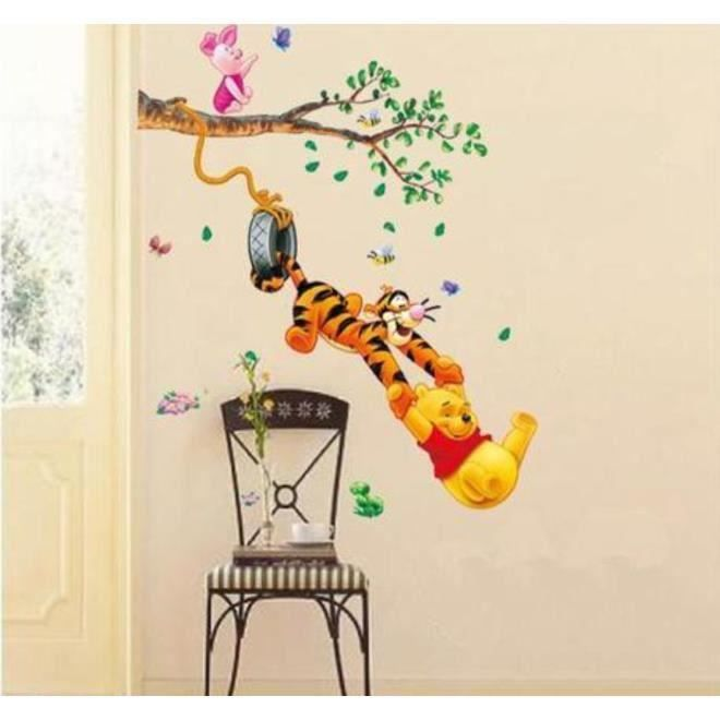 Deco Chambre Walt Disney : Sticker winnie l ourson achat vente stickers cdiscount