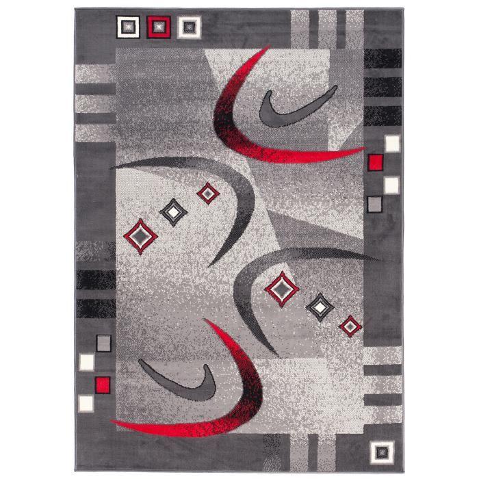 Carpeto Rugs Tapis Salon Beige 80 x 150 cm Moderne Vagues//Monaco Collection
