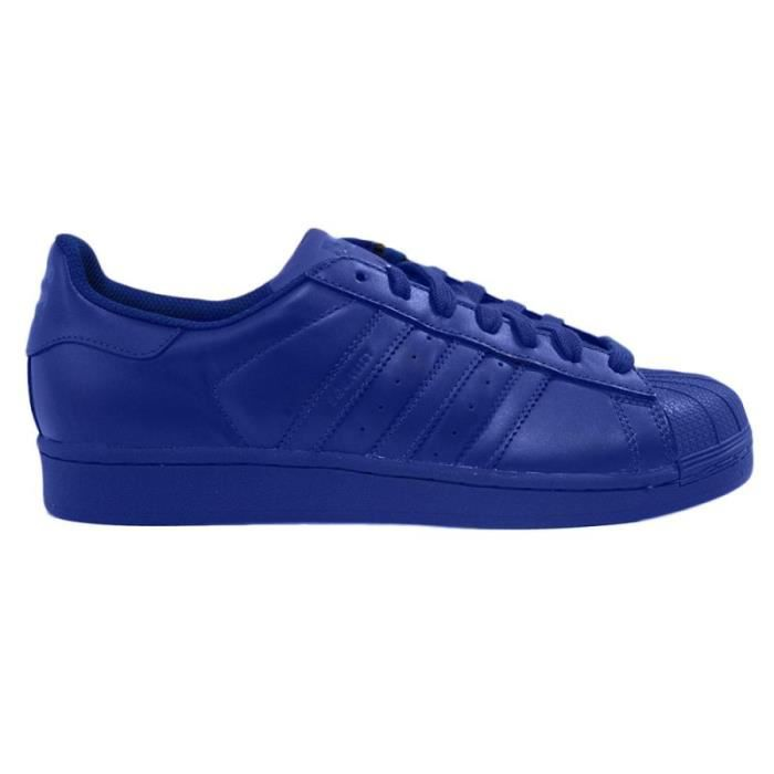 1b2690906ec Basket Adidas Superstar Pharrell Williams Bleu Dur Bleu - Achat ...