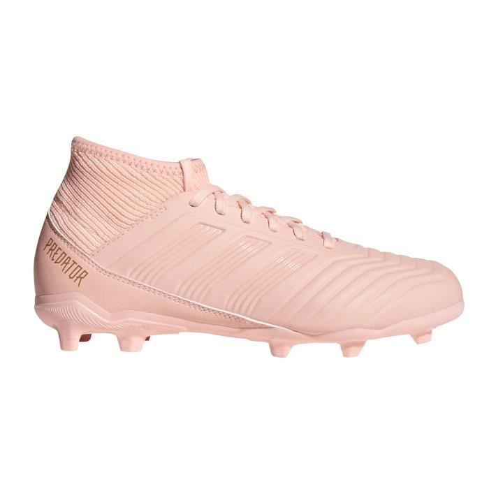 Chaussures football adidas Predator 18.3 FG Rose Junior ...