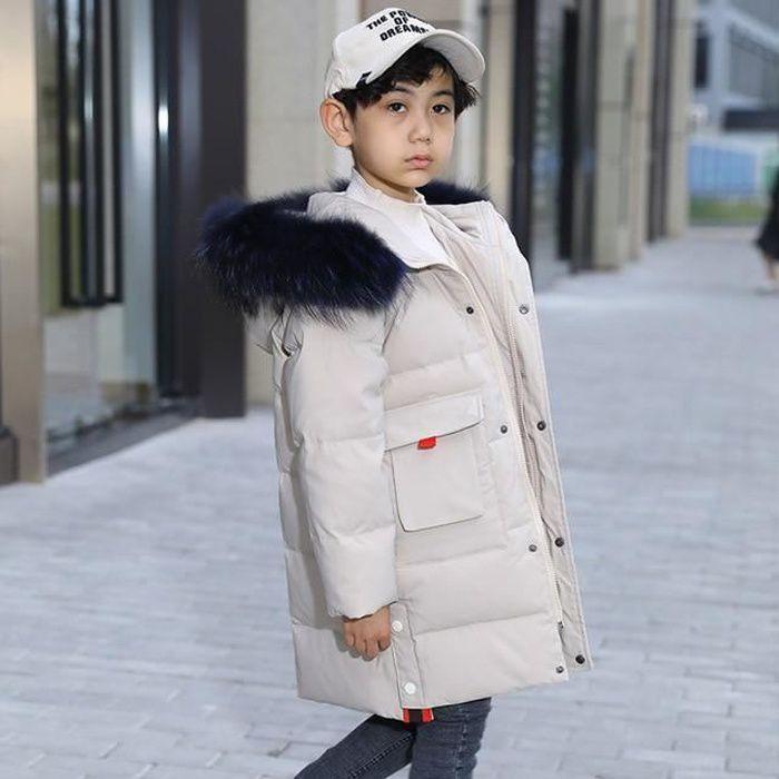 Zencart 30 Degrés Russie Hiver Enfants Garçons Veste à