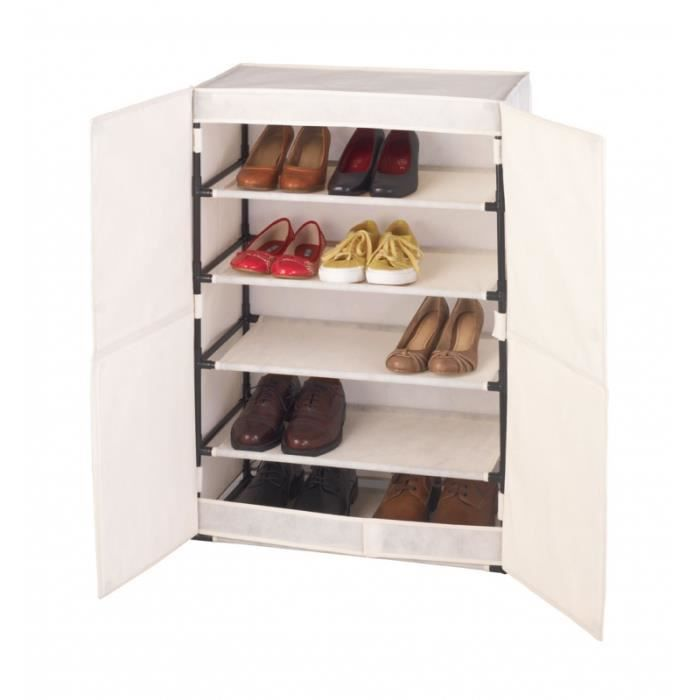armoire chaussures wenko meuble de rangement achat. Black Bedroom Furniture Sets. Home Design Ideas
