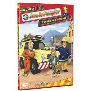 DVD DESSIN ANIMÉ DVD Sam le pompier, vol. 2 : la chasse au dinos...