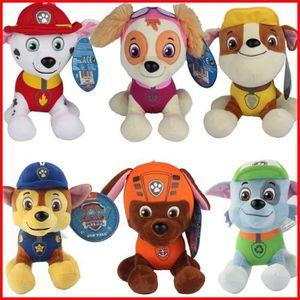 POUPÉE 6pcs / lot Puppy Paw patrouille Chiens jouets en p