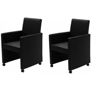 chaises de salle a manger a roulettes achat vente. Black Bedroom Furniture Sets. Home Design Ideas