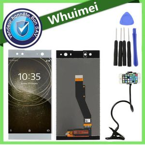 ECRAN DE TÉLÉPHONE Argent Tactile Vitre + Écran LCD avec un kit d'out