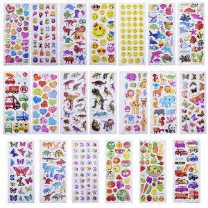 Style al/éatoire Cosanter Beau Gommettes Fantaisie Scrapbooking Autocollant Stickers Enfants