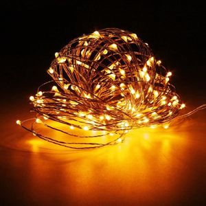 GUIRLANDE LUMINEUSE INT 20M 200 LED Guirlande Lumineuse Extérieure Fête+DC