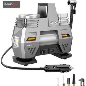 COMPRESSEUR AUTO BLACKPINE - Compresseur d' Air Portatif, 12V 120W